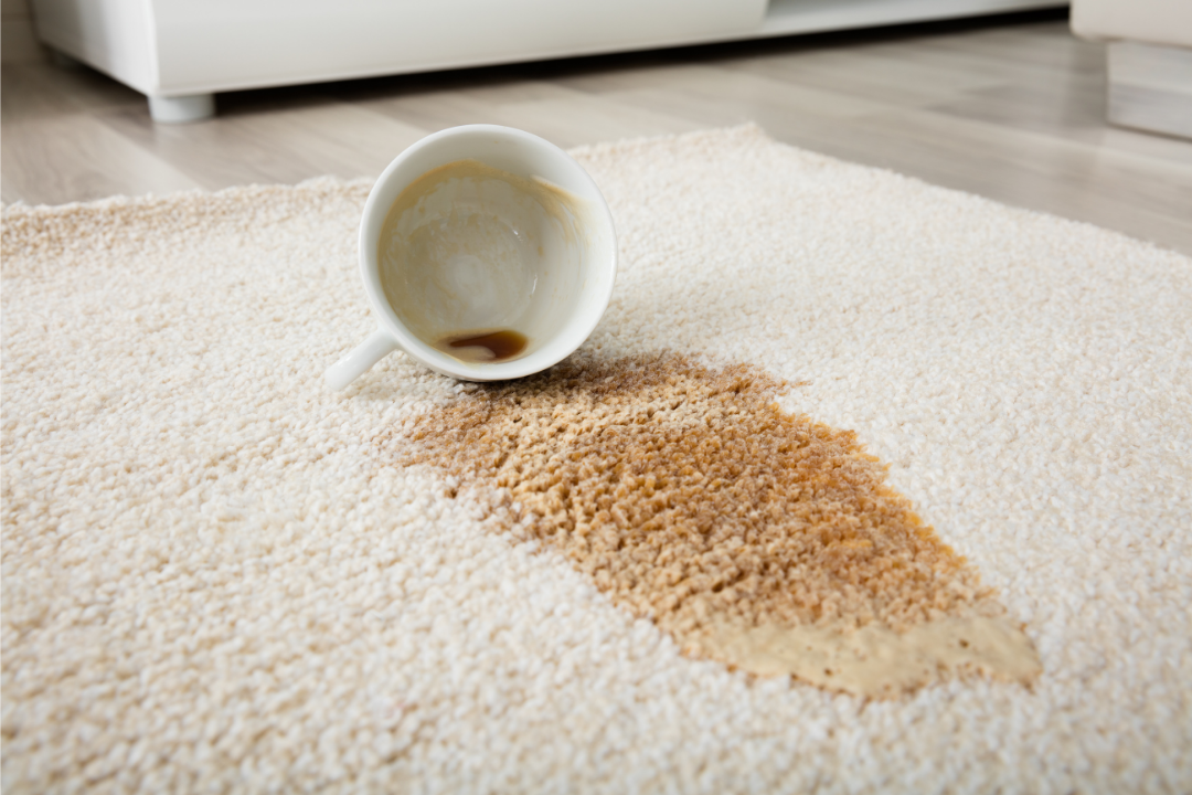 4 common carpet stains and what to do